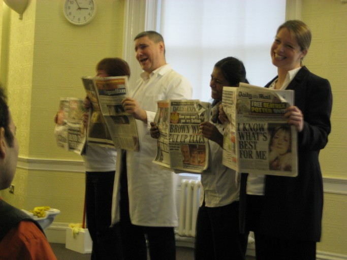 Cradle to Grave, performed at Moseley Hall Hospital and other NHS venues